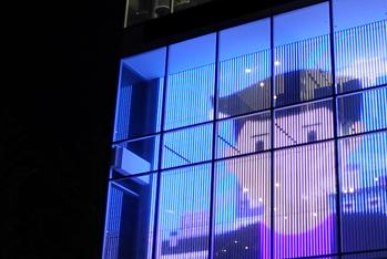LED media facade