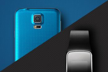 삼성 갤럭시 S5 & 기어 제품 사이트