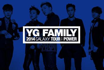 YG FAMILY 2014 GALAXY TOUR : POWER