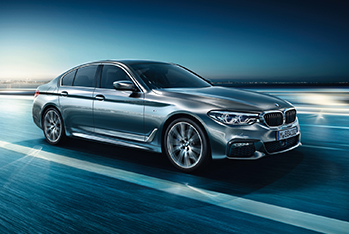 'The All-New BMW 5 Series' online creative