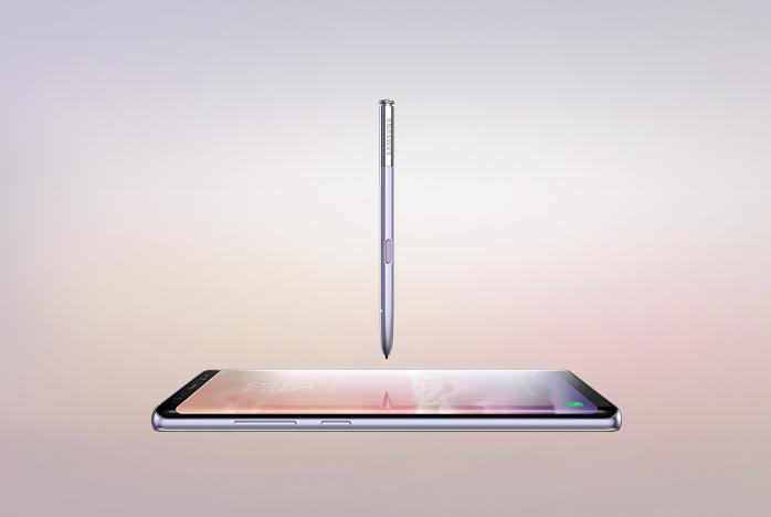 Galaxy Note8 온라인 체험존